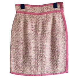 Chanel-Skirts-Pink