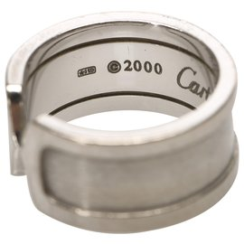 Cartier-Cartier Argent 18K C2 Bague-Argenté