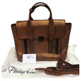 3.1 Phillip Lim-Pashli Medium-Bronze