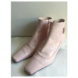 Louis Vuitton-Ankle Boots-Pink