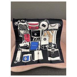 Chanel-Cachecol Chanel-Multicor