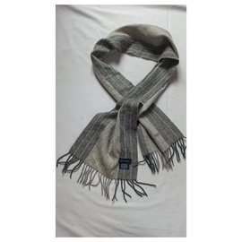 Rochas-Men Scarves-Grey