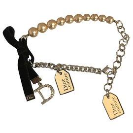 Dior-Bracelets-Noir,Argenté,Blanc