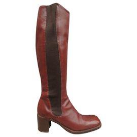 Free Lance-Free Lance p boots 37,5-Brown