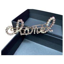 Chanel-head jewel-Golden
