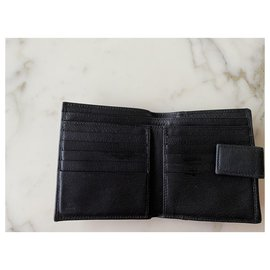Gucci-Gucci leather wallet-Black