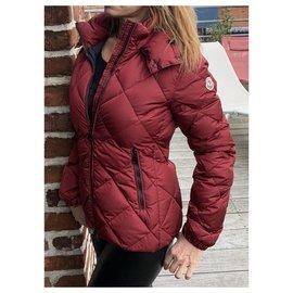 Moncler-Manteaux, Vêtements d'extérieur-Rouge