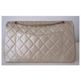 Chanel-Chanel bag 2.55 maxi-Golden,Gold hardware