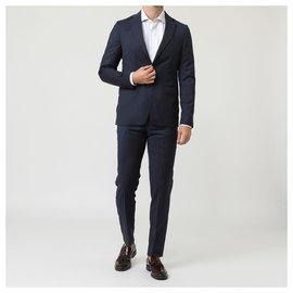 Autre Marque-Pal Zileri new men's suit-Dark blue