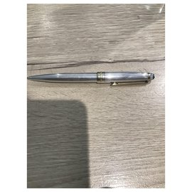 Montblanc-Montblanc solid silver mechanical pencil 925-Silver hardware