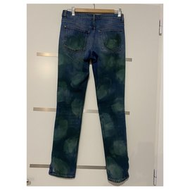 Chanel-Jeans-Blue,Green