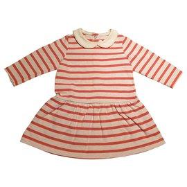 Petit Bateau-Dresses-Pink