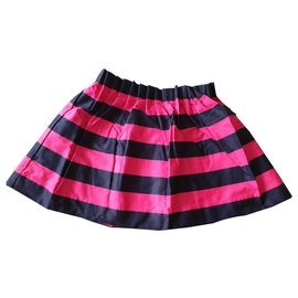 Jacadi-Skirts-Pink,Navy blue