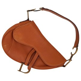 Dior-Sac Dior Saddle-Marron