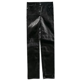 Chanel-18K Lurex Jeans/Pants-Black