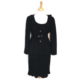 Chanel-Skirt suit-Black