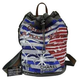 Chanel-Chanel Cuba La Habana Backpack-Multiple colors