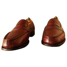 JM Weston-Church´s Loafers 180 JM WESTON size 6D (40) very good condition-Dark red