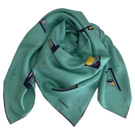 Chanel-CHANELSOIE SCARF-Other