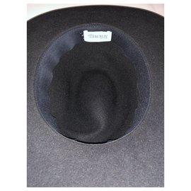 Maison Michel-Hats-Black