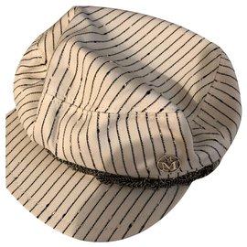 Maison Michel-Hats-White