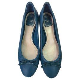 Christian Dior-Ballerinas Dior-Blue