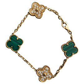 Van Cleef & Arpels-Bracelet Vintage Alhambre-Doré