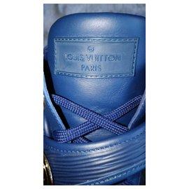 Louis Vuitton-Sneakers-Blue