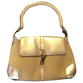 Gucci-Bamboo bag in gold-Golden
