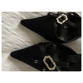 Dior-Mules Dior-Noir