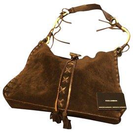 Dolce & Gabbana-Bag with certificate-Dark brown