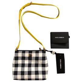 Dolce & Gabbana-Dolce & Gabbana Bambino Gingham Bag-Multiple colors