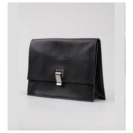 Proenza Schouler-Lunchbag Clutch-Black