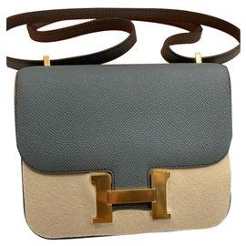 Hermès-Constance Mini 18-Green,Grey