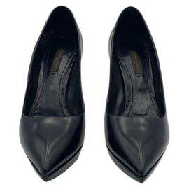 Louis Vuitton-DECOLLETES PUMPS LOUIS VUITTON TWO-TONE SIZE 36,5 eu-Black,Golden