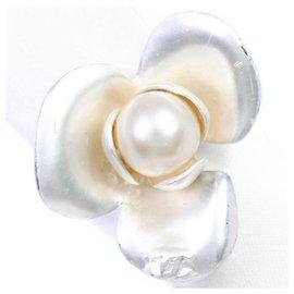 Chanel-Chanel Camellia-Silvery