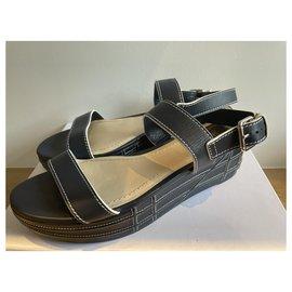 Dior-Sandales-Bleu Marine