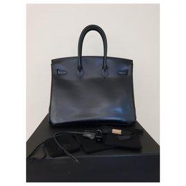 Hermès-Birkin 35  So Black-Black