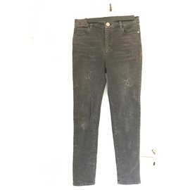 Chanel-CC Jeans-Dark grey