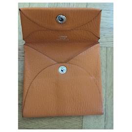 Hermès-Hermès Coin Purse-Orange