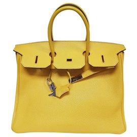 Hermès-Birkin 35 Sun Yellow-Yellow