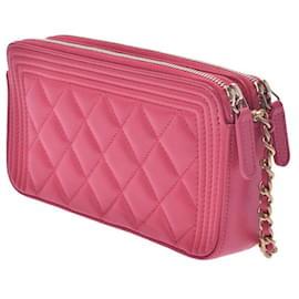 Chanel-Chanel Boy-Pink