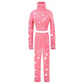 Chanel-Iconic Supermarket suit-Pink
