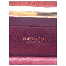 Hermès-Hermès Pullman bag-Dark red