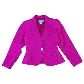 Yves Saint Laurent-Yves Saint Laurent short jacket-Pink
