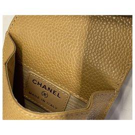 Chanel-Bourses, portefeuilles, cas-Beige