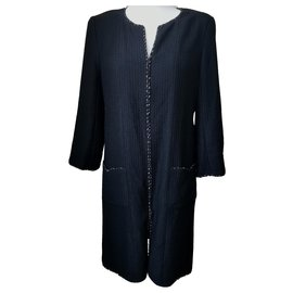 Chanel-coat-Black