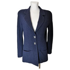 Chanel-Blazer-Navy blue