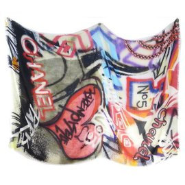 Chanel-graffiti number 5-Multiple colors