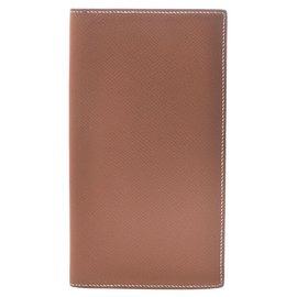 Hermès-Hermes wallet-Brown